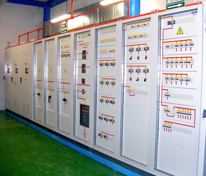 Electrical panel assemblies